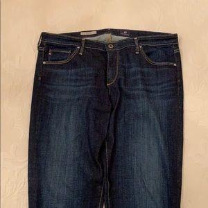 """AG jeans """"The Stilt"""" cigarette leg dark wash"""